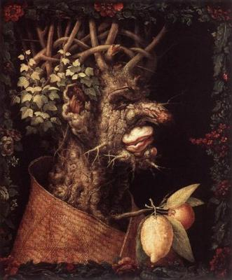 Dark Cold Winter Picture by Giuseppe Arcimboldo