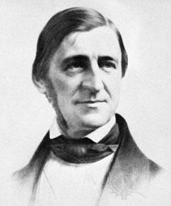 Ralph Waldo Emerson Lithograph