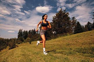 Picture of Lady Running